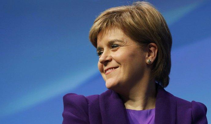 Skotská první ministryně Nicola Sturgeonová