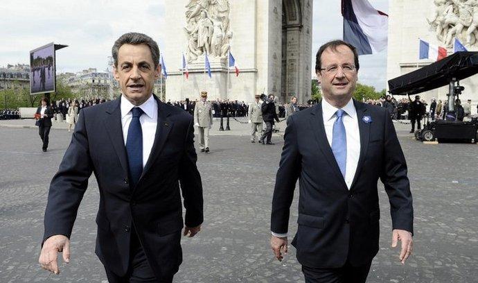 Nicolas Sarkozy a François Hollande.