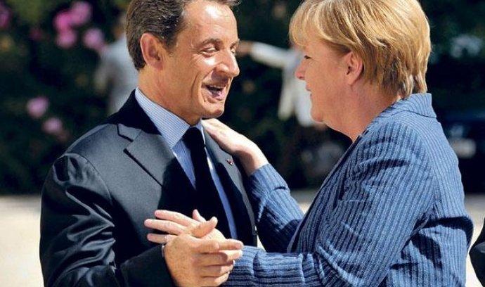 Nicolas Sarkozy, Angela Merkelová