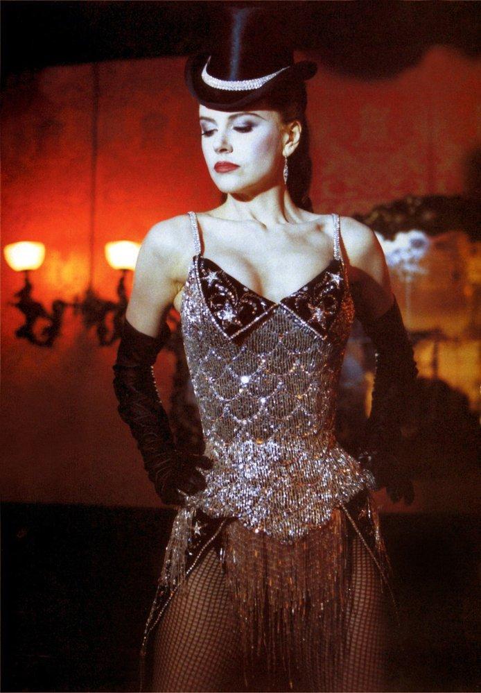 Nicole jako Satine ve filmu Moulin Rouge (2001)