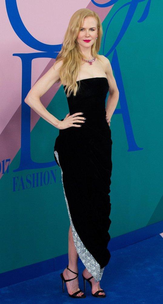 Nicole Kidman na letošních cenách CFDA