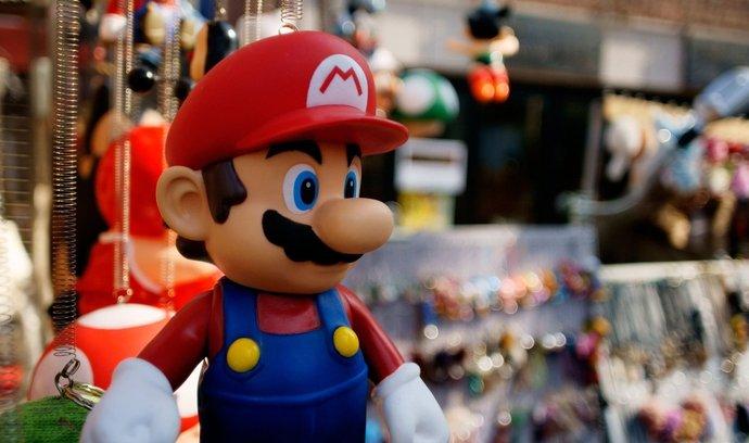 Mario patří mezi nejslavnější herní postavičky všech dob, akcie jeho mateřské firmy ale zůstávají relativně levné.