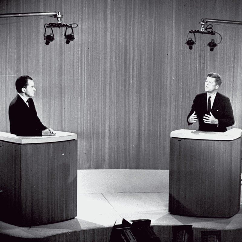 Nixon vs. Kennedy, 1960. Televize poprvé rozhoduje volby.