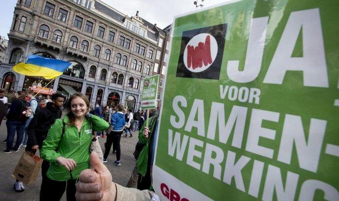 Nizozemské referendum o asociační dohodě EU s Ukrajinou
