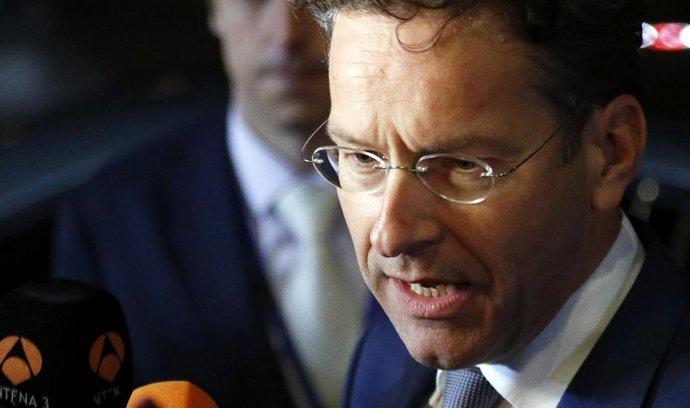 nizozemský ministr financí a šéf euroskupiny Jeroen Dijsselbloem