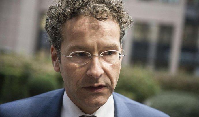 Nizozemský ministr financí Jeroen Dijsselbloem