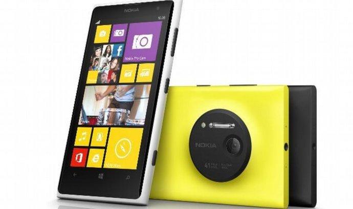 Zatím jeden z poslední produktů Nokie je model smartphonu Lumia 1020