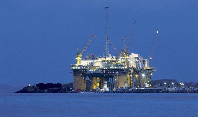 norská ropná plošina