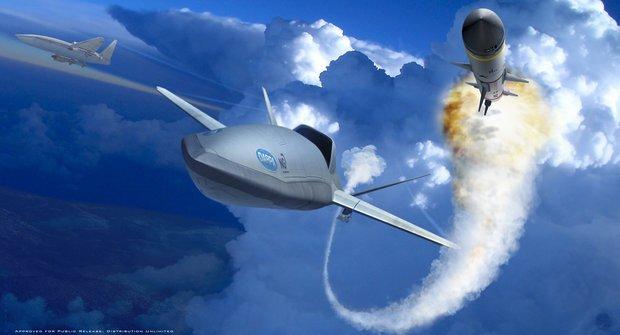 Útočný dron LongShot: Nebe ovládne malá chytrá raketa