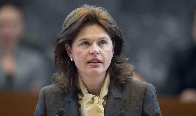Bývalá slovinská premiérka Alenka Bratušeková