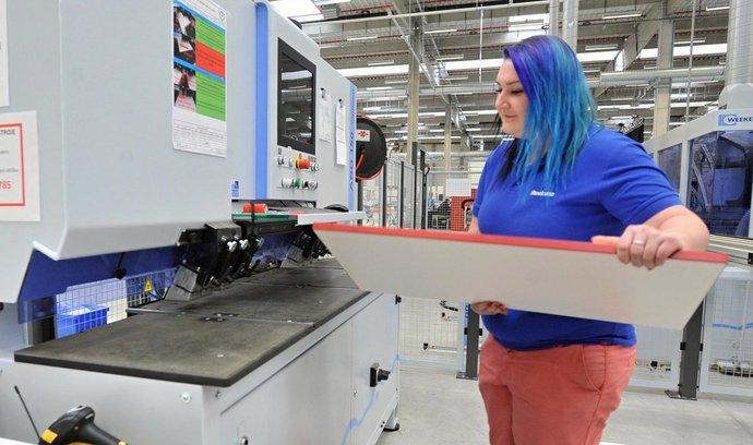 Nová továrna Steelcase ve Stříbře