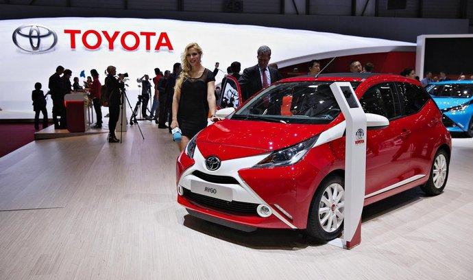 Nová Toyota Aygo na ženevské premiéře