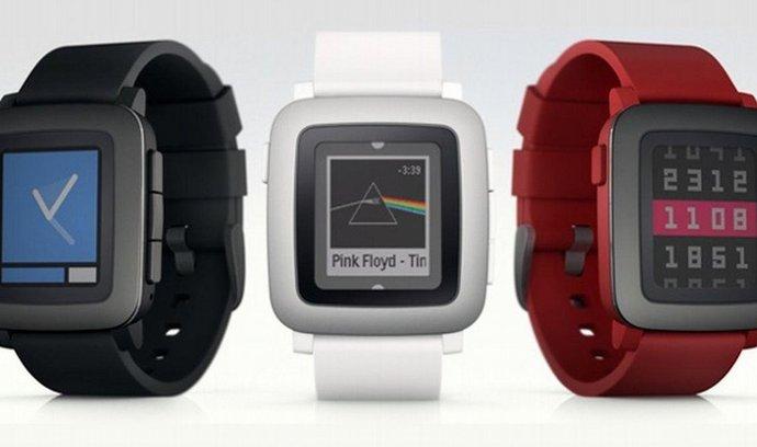 Nové hodinky Pebble Time