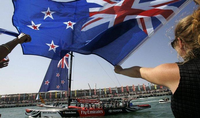 Novozélandská vlajka