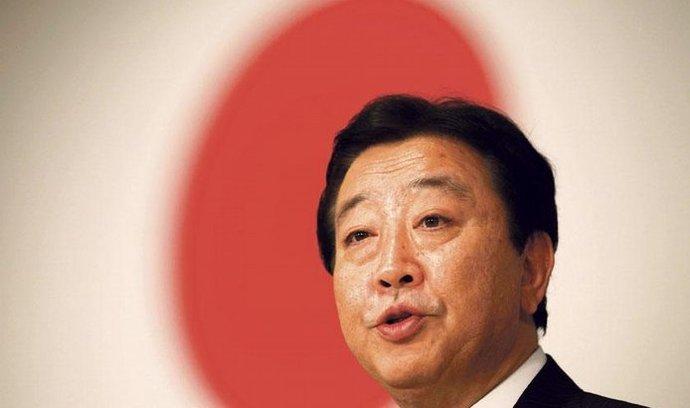 nový japonský premiér Jošihiko Noda