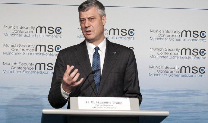 Nový kosovský prezident Hasim Thaci