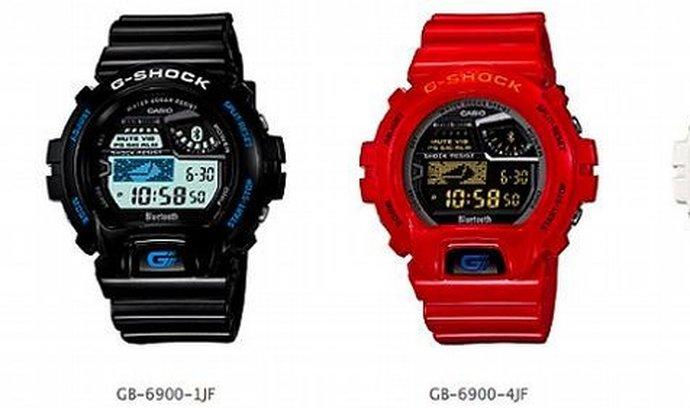 Nový model hodinek Casio G-Shock si rozumí s chytrými telefony