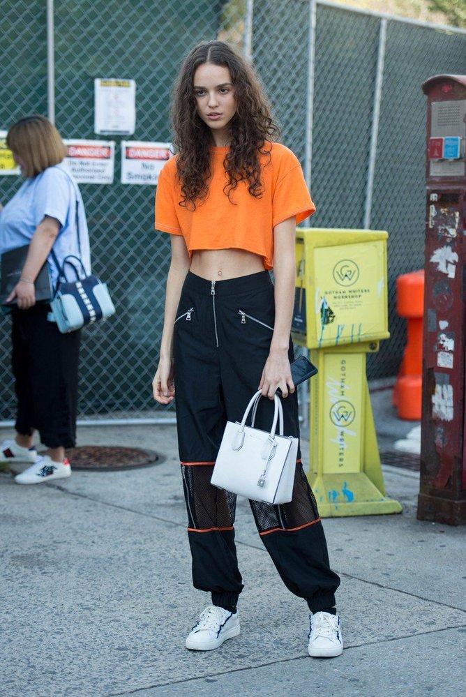 Street style z New Yorku