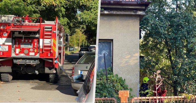 Ranní požár zachvátil rodinný dům v Nymburce: Jeden člověk to nepřežil