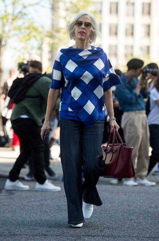 Street style na newyorském fashion weeku