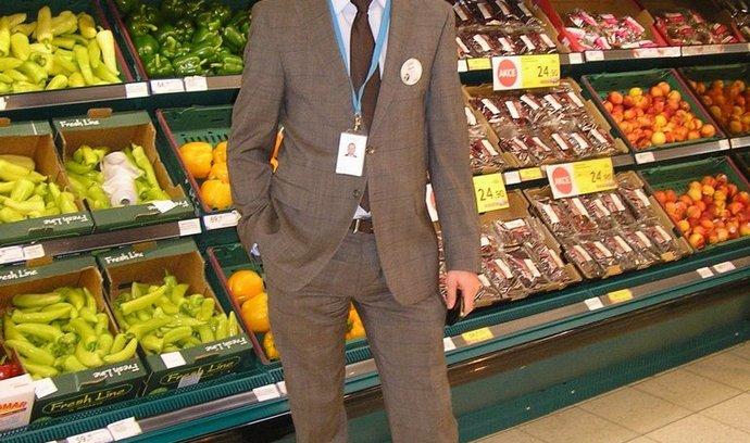 Obchody Tesco v ČR nově povede Martin Beháň (na snímku). Nahradil tak Davida Morrise, který se stal generálním ředitelem pro evropské trhy.