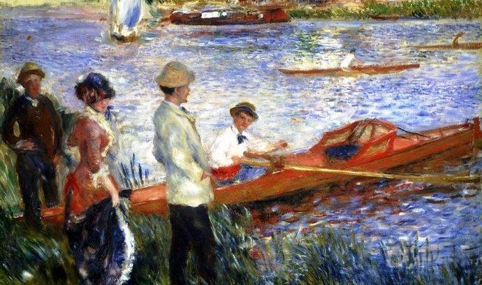 Obraz od Pierre Auguste Renoira, ilustrační foto