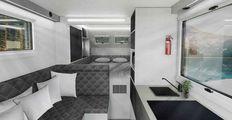 OBRAZEM: Terénní karavan Bruder EXP-8 poskytne komfort i v extrémních podmínkách