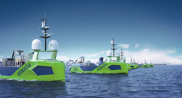 Rozbouřené moře: Autonomní ponorky budou bojovat proti nebezpečným minám
