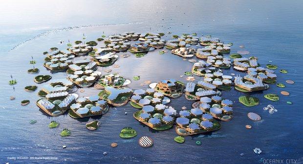 Bydlení na moři: Nejzajímavější plovoucí města budoucnosti