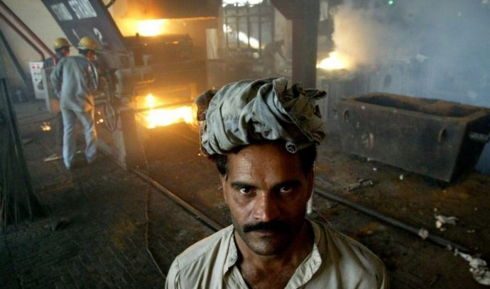 Ocelárna, Pákistán