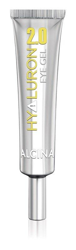 Oční gel s vyhlazujícím efektem, Hyaluron 2.0, Alcina, dostupné ve vybraných salonech, 378 Kč