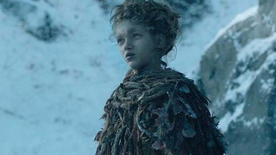 Octavia Alexandruová hrále Leaf v jediné epizodě 4. série, kdy se tato postava objevila poprvé