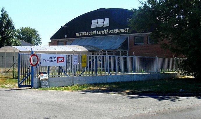 Odbavovací budova letiště Pardubice
