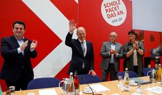 Scholz je na tahu, Laschet nemá jistou podporu ani u křesťanských demokratů