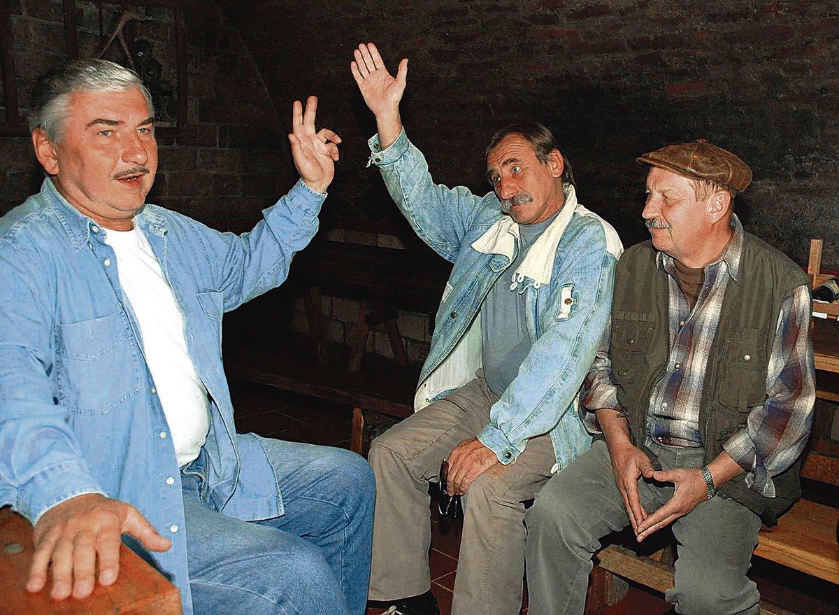 Oldřich Vlach s Miroslavem Donutilem a Pavlem Zedníčkem