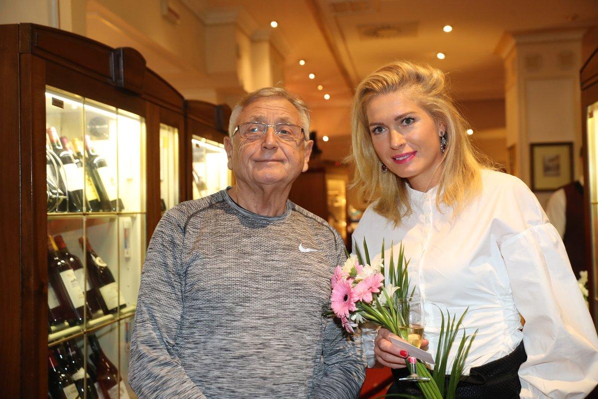 Se zesnulým manželem Jiřím.