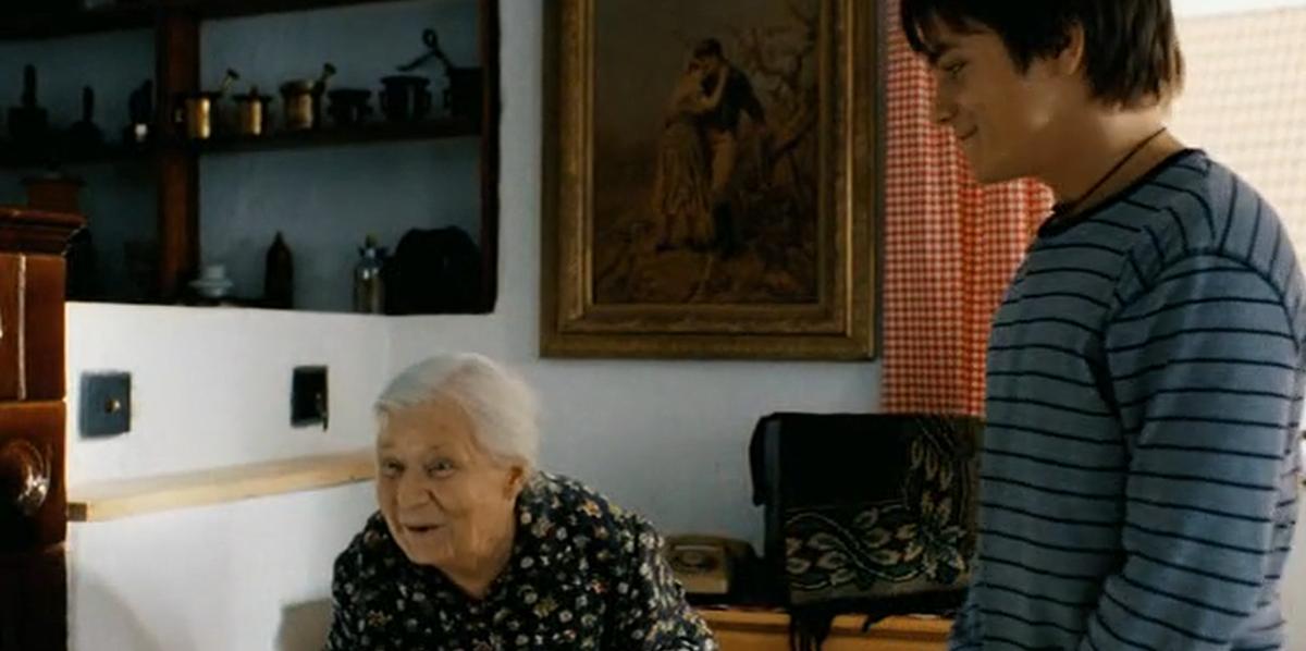 Olga Schmidtová a Jiří Mádl ve filmu Rafťáci
