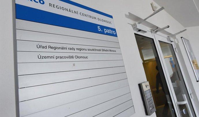 Olomoucké sídlo Regionálního operačního programu Střední Morava