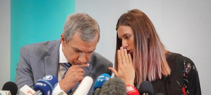 Kryscina Cimanouská popsala momentální situaci