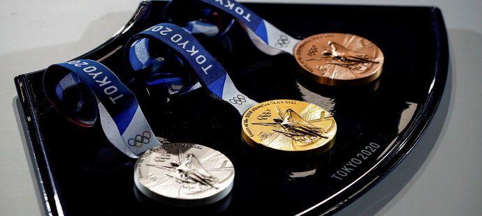 Sada olympijských medailí
