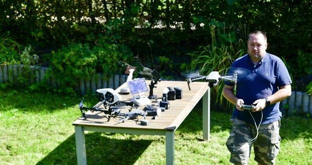 David Malík je fotograf Blesku a jeho velkou láskou a koníčkem v jednom jsou drony.