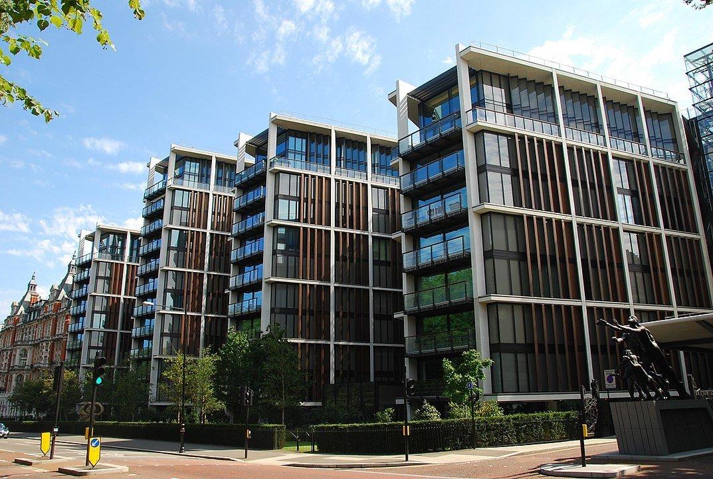 One Hyde Park, superluxusní rezidence v Londýně.