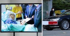 ONLINE: Mynář ukázal video se Zemanem a Vondráčkem. A Zemanová na návštěvě opět bez Kate