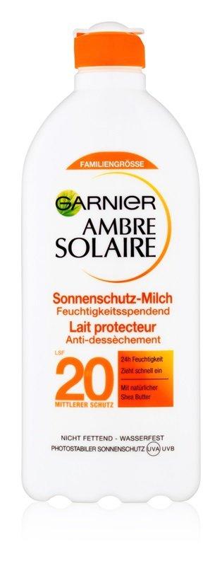 Opalovací mléko Ambre Solaire, Garnier, SPF 20, 349 Kč/400 ml