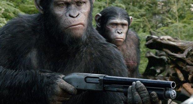 Soutěž o ceny k filmu Úsvit planety opic