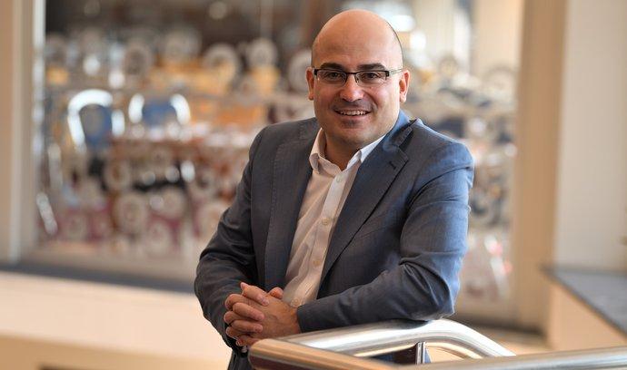 Gorjan Lazarov,generální ředitel hotelové sítě Orea Hotels&Resorts