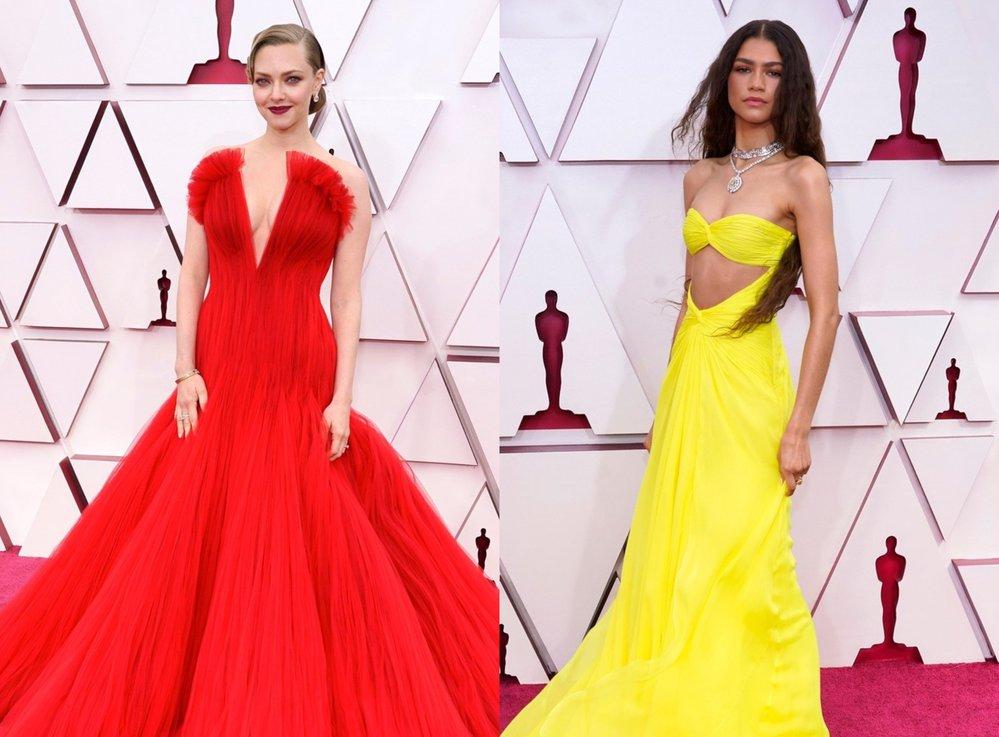 Které róby na letošních Oscarech zazářily nejvíc?