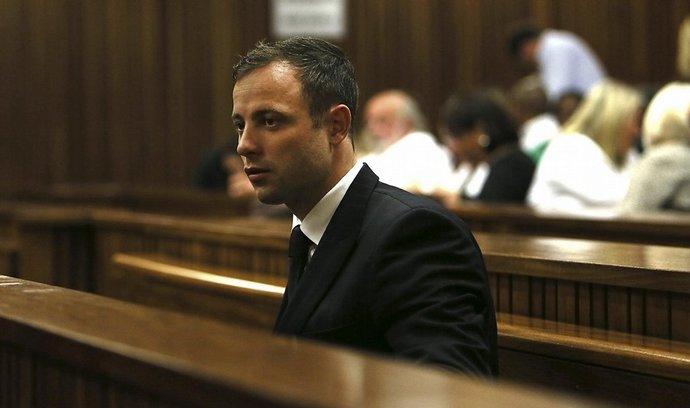 Oscar Pistorius u soudu v Pretorii