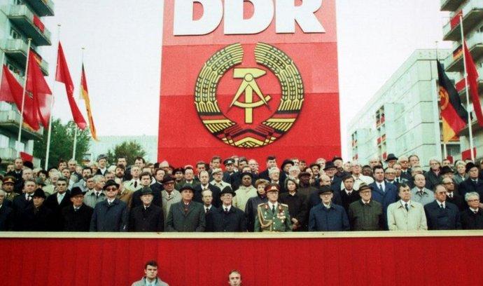 Oslavy 40 let existence NDR na podzim roku 1989 (archivní foto)