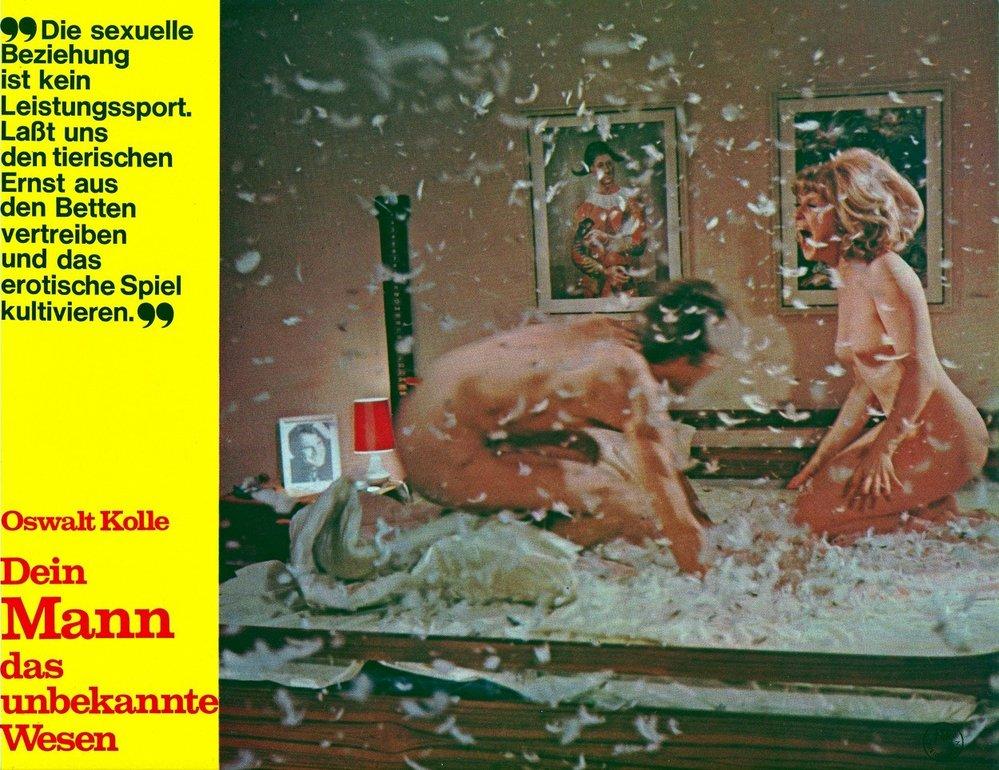 Oswalt Kolle se stal slavným díky svým filmům a knihám, které propagovaly sexualitu.